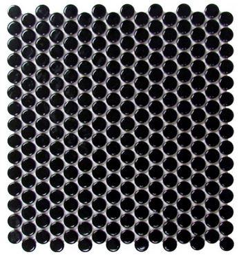 Alameda Pennyrounds black-gloss-1-inch