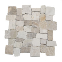 Random block mosaics