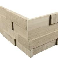 gray limestone ledgerstone corners